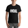 #HODL Tshirt Black High-end Design
