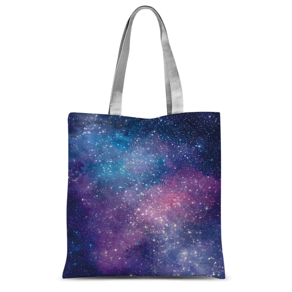 Bitcoin Galaxy Classic Sublimation Tote Bag