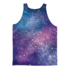 Bitcoin Galaxy Classic Sublimation Adult Tank Top