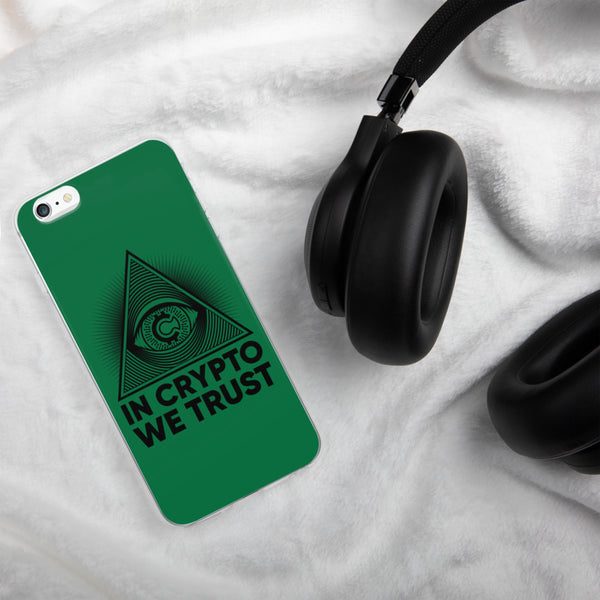 IN Crypto We Trust iPhone Case