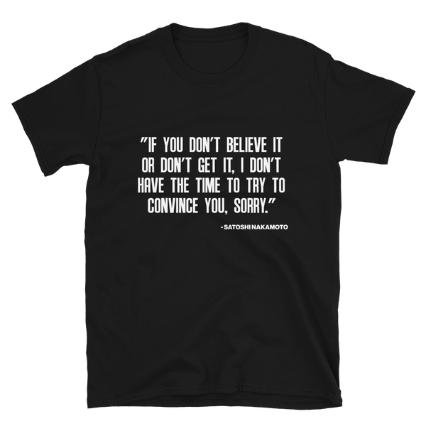 Non Believers T-Shirt