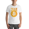 Team Bitcoin White High-end T-Shirt