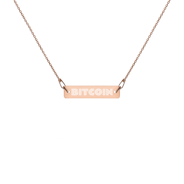 Bitcoin Chain Necklace
