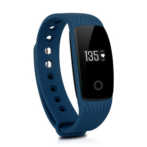 Diggro ID107 Heart Rate Monitor Bluetooth Fitness Tracker Smart Band Call/SMS Reminder Sports Pedometer Step Counter Watch Alarm
