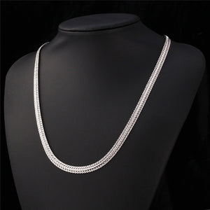 Men's Classic Thick Foxtail Chains 18K Gold/Rose Gold/Platinum Plated Men Jewelry Fashion Choker Necklaces