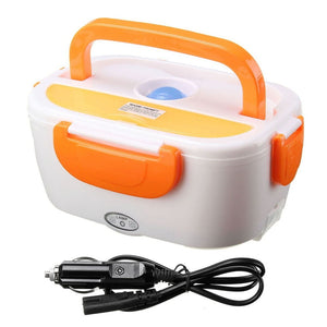 Multifunctional Electric Heating Lunch Box Food Heater 12V Portable Lunch Heater Bento Box Office Home Food Warmer with Removabl