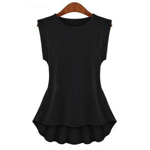 Women's Lace Frill Bodycon|Casual Party Tank Shirt| Tops Blouse