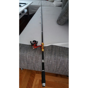 Fishing Rod & Reel Combos 1.8-3.6M Telescopic Fishing Rod With 14BB Spinning Fishing Reel Set