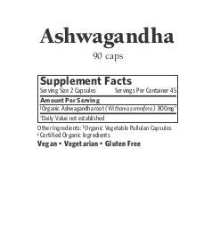 SHIP BY USPS ORGANIC INDIA Ashwagandha Herbal Supplement Veg Capsules, Healthy Stress Response (90 Capsules)