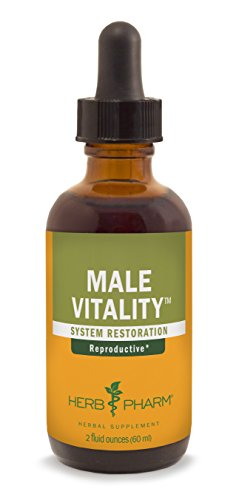 SHIP BY USPS Herb Pharm Male Sexual Vitality Herbal Formula for Healthy Sexual Function in Men, 2 Ounce
