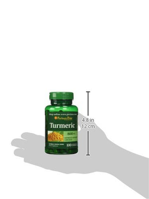 SHIP BY USPS Turmeric 800 mg-100 Capsules