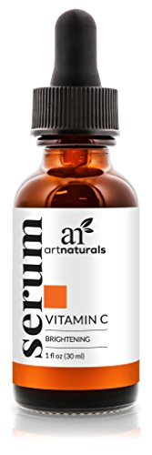 SHIP BY USPS ArtNaturals Anti-Aging Vitamin C Serum - 1 Fl Oz - with Hyaluronic Acid and Vit E - Wrinkle Repairs Dark...