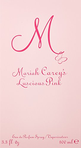 SHIP BY USPS M Luscious Pink By Mariah Carey For Women, Eau De Parfum Spray, 3.3 Ounces (100 ml)