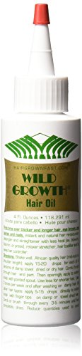 SHIP BY USPS Wild Growth Hair Oil 4 Oz