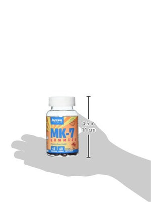 SHIP BY USPS: Jarrow Formulas Mk-7 Gummies, Promotes Bone and Joint Health, 60 Gummies
