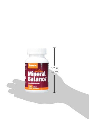 SHIP BY USPS: Jarrow Formulas Mineral Balance, Supports Maintenence For Optimal Health, 120 Capsules