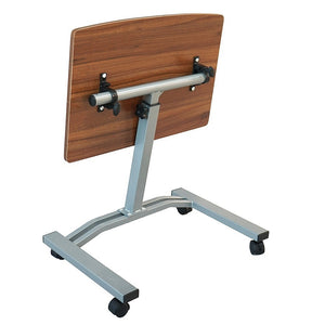 Rolling Angle Height Adjustable Adjustable Laptop Notebook Desk Cart Over Sofa Bed Hospital Lifting Computer Table Stand