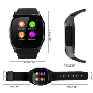 2018 Bluetooth Bracelet Smart Watch Heart Rate Blood Pressure Monitor Call SMS Reminder Pedometer Calorie Counter Sleep Monitor