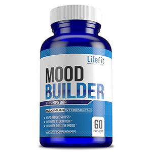 SHIP BY USPS: Mood Builder - Premium Mood Support Supplement | Superior Efficiency Natural Stress Relief | Vegan Dietary...