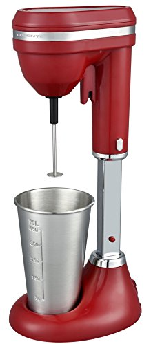 Ovente Kitchen MS2090 Drink Mixer, 15 oz, Red