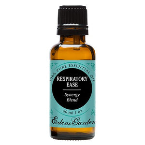 SHIP BY USPS Respiratory Ease Synergy Blend Essential Oil by Edens Garden- 30 ml (Cardamom, Hyssop, Juniper Berry and Rosemary)