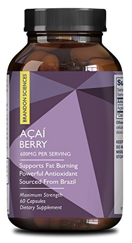 SHIP BY USPS: Pure Acai Berry Concentrate Capsules – Acai Berry Cleanse Weight Loss + Antioxidant Support +...