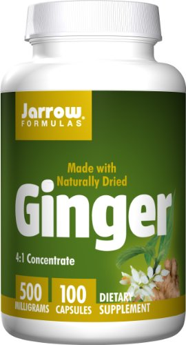 SHIP BY USPS: Jarrow Formulas Ginger, Supports Gastrointestinal Health, 500 mg, 100 Caps