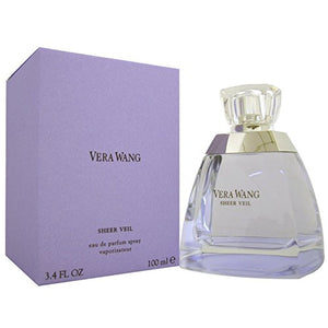 SHIP BY USPS Vera Wang Sheer Veil By Vera Wang For Women. Eau De Parfum Spray 3.4 oz