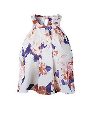 Women's Floral Printed Summer Dress Romper Boho Playsuit Jumpsuits Beach 2 Piece Outfits Top with Shorts
