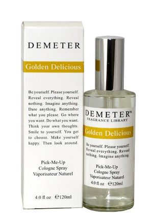 SHIP BY USPS Golden Delicious By Demeter For Women. Pick-Me Up Cologne Spray 4.0 Oz.