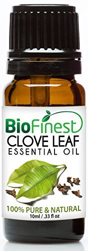 BioFinest Clove Leaf Oil - 100% Pure Clove Essential Oil - Premium Organic - Therapeutic Grade - Best For Tooth Aches -...