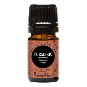 SHIP BY USPS Turmeric 100% Pure Therapeutic Grade Essential Oil by Edens Garden- 5 ml