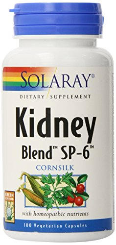SHIP BY USPS: Solaray Kidney Blend SP-6, 100 Count