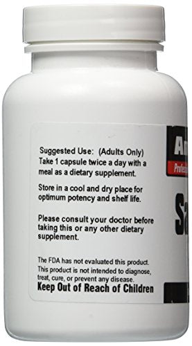 SHIP BY USPS: Sage Leaf 120 Capsules, Sage Leaf 3200 Mg Antioxidant Remedy for Menopausal Sweating - Amermed