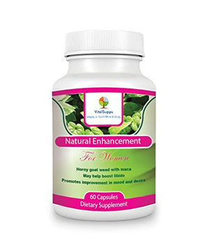 SHIP BY USPS 100% Natural Libido Booster for Women | Female Sexual Enhancement Capsules | Ease Menopause Symptoms |...