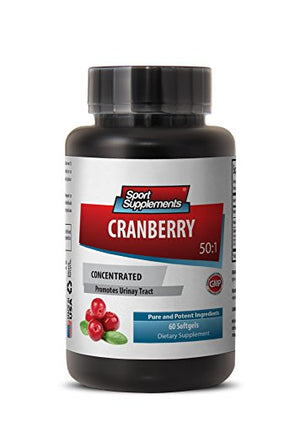 Cranberry Pills for Kids - Cranberry Concentrated Extract 50 : 1 Concentrate Equivalent to 12.600mg -...