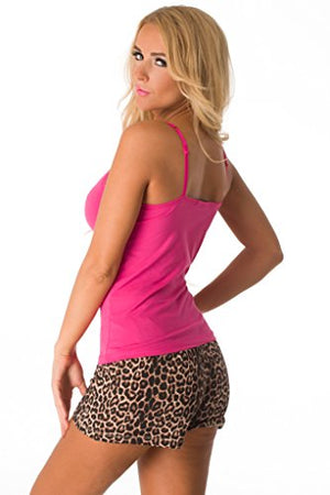 Sexy Pajama Set with Tank & Shorts for Women 562714