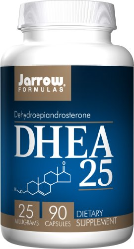 SHIP BY USPS: DHEA 25mg Jarrow Formulas 90 Caps