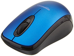 Basics Wireless Mouse with Nano Receiver - Blue