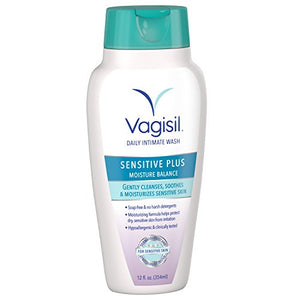 Vagisil Sensitive Plus Daily Intimate Vaginal Wash, 12 Ounce
