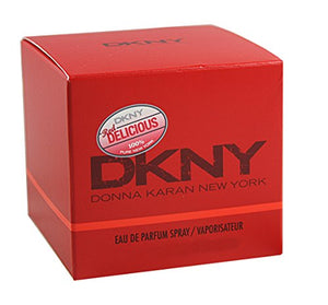 SHIP BY USPS Dkny Red Delicious By Donna Karan For Women. Eau De Parfum Spray 1 OZ