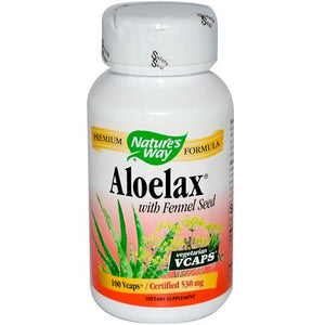 SHIP BY USPS: Nature'S Way Aloelax With Fennel Seed - 100...