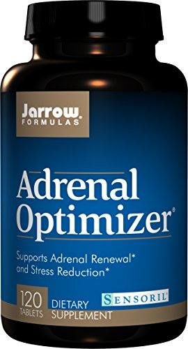 SHIP BY USPS: Jarrow Formulas Adrenal Optimizer, Supports Adrenal Renewal  and Stress Reduction, 120 Tabs