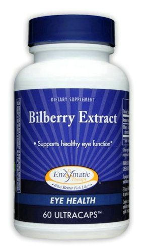 Bilberry Extract 60 Capsules
