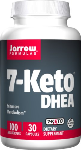 SHIP BY USPS: Jarrow Formulas 7-Keto DHEA, Enhances Metabolism, 100 mg, 30 Caps