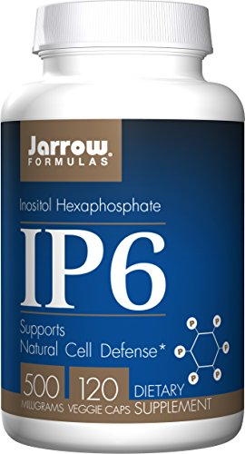 SHIP BY USPS: Jarrow Formulas IP6 (Inositol Hexaphosphate), 500mg, 120-Capsules