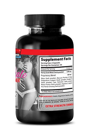 SHIP BY USPS Natural Female Enhancement Supplement - Female Sexual Support Formula with Horny Goat Weed 1000...1 bottles - 60 capsules