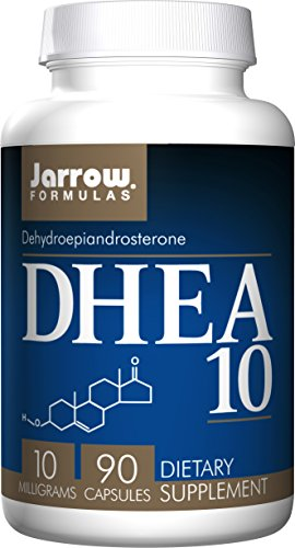SHIP BY USPS: Jarrow Formulas DHEA, Supports Energy, 10 mg, 90 Caps