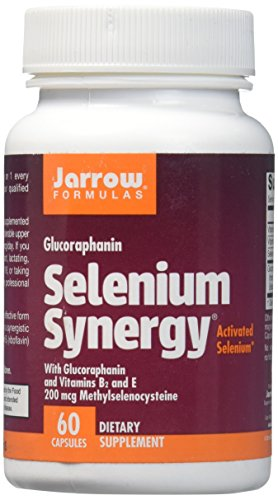 Jarrow Formulas Selenium Synergy With BroccoMax + Vitamins B2 & E 200mcg Methylselenocysteine, Promotes...60 capsules
