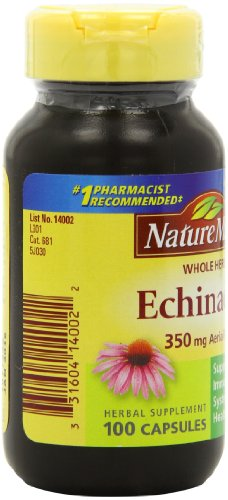 SHIP BY USPS: Nature Made Echinacea Herb, 350mg, 100 Count.